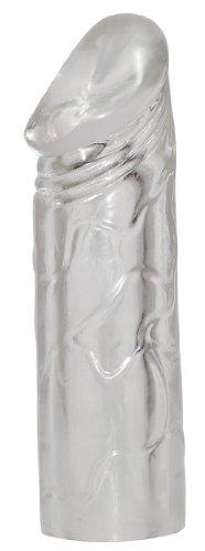 Rebel Mega Dick Sleeve - Penismanschette zur intensiven Stimulation, Sleeve verlängert und verdickt Penis, Sextoy verlängert den Penis um 5 cm,  Penishülle für Paare, transparent