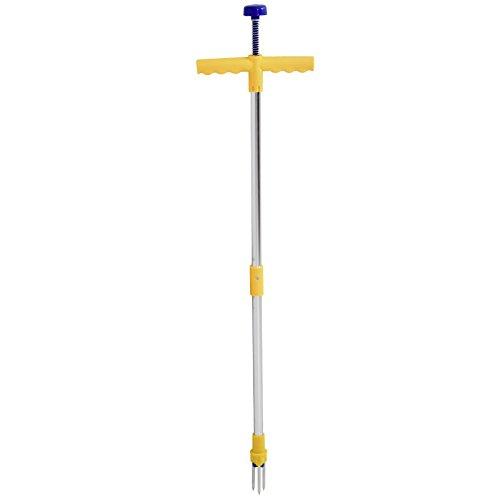 Unkrautstecher Unkrautentferner 98cm mit Stahlkrallen