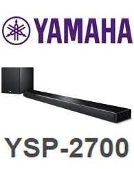 Yamaha Music India YSP-2700 7.1 Musiccast Soundbar With Wireless Subwoofer (Black)