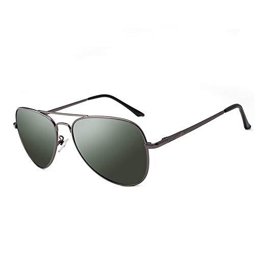 Sonnenbrillen Mode Personalisierte dunkelgrüne Linse polarisierte Unisex UV-Blockierung Strand Reise kleines Gesicht Dame langlebig für Outdoor-Sport-Sonnenbrillen ( Farbe : One color , Größe : Free )