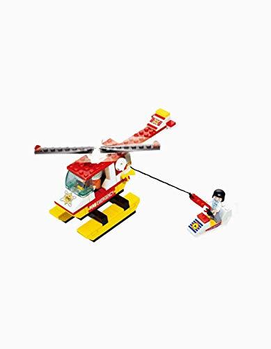 SLUBAN BRICKS, Town Helicóptero de Bomberos Juegos de construcción (AJ 1)