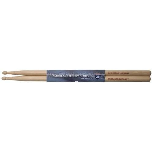 Stagg SH2B Hickory Trommel-Stock mit Holz-Tip (1-paar) -
