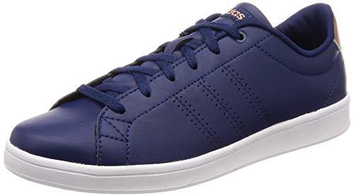 online store cecfd bdf5b adidas Women s Advantage Clean Qt Fitness Shoes, Blue Azuosc Ftwbla 000, ...
