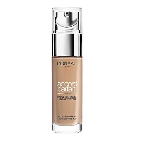 L'Oréal Paris - Fond de Teint Fluide Accord Parfait Beige (4.N) 30ml