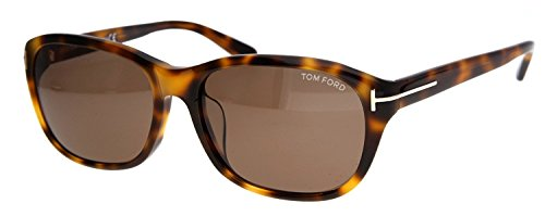 Tom Ford Damen Sonnenbrille London Braun FT0396-F-6052J