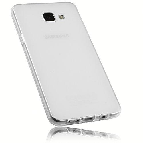mumbi Schutzhülle Samsung Galaxy A5 (2016) Hülle transparent weiss (nicht für das Galaxy A5 - A500F von 2015)