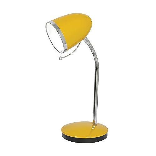 Oaks Lighting Madison Table Desk Lamp, Yellow