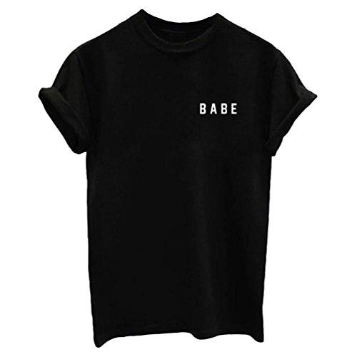 ZKOO Impression Col Rond Manches Courtes Lâche Hommes Et Les Femmes T-Shirt