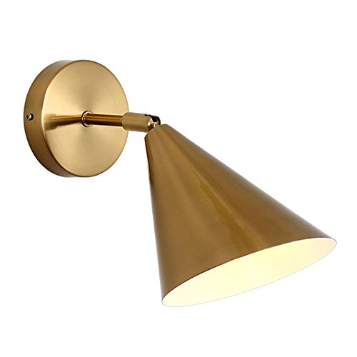 Nordic Postmodern Rotatif Lampes Murales Salon Décoration Corridor Chambre Lampe De Chevet Maison Déco Or Appliques Murales Luminaire,Whitelight