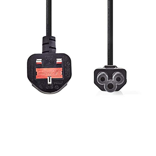 TronicXL Kaltgerätekabel UK United Kingdom England - Netzkabel | Stecker Typ G (GB) - IEC-320-C5-3 polig (3m)