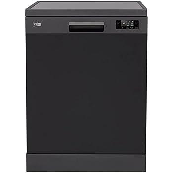 Beko UDFN15310A Autonome 13places A+ lave-vaisselle - Lave-vaisselles (Autonome, anthracite, Taille maximum (60 cm), Noir, panier, 13 places)