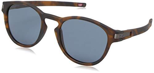Ray-Ban Herren 0OO9265 Sonnenbrille, Grau (Matte Brown Tortoise), 52