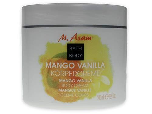M.Asam Körpermousse Mango Vanille - 500ml