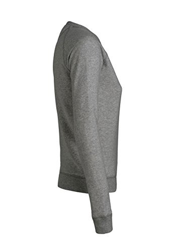 Royal Shirt sweat basique à col rond avec manches raglan pour femmes Mid Heather Grey