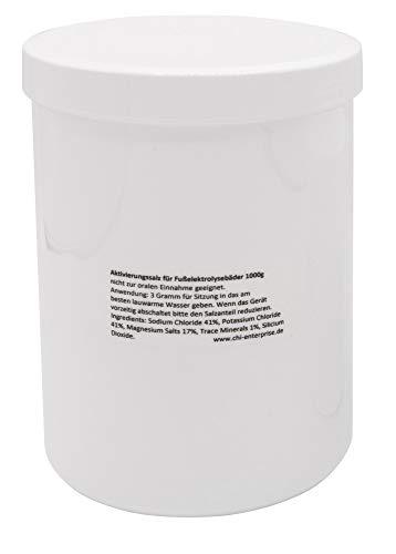 Aktivierungssalz für Hydrosana und Bioenergiser Detox Spa 1000g - reduzierter Natriumgehalt, angereichert mit Kalium und Magnesium