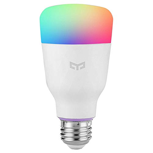 Yeelight A60 10W Smart Ambiance e27 LED Lampadina WiFi bianca e calda luce bianca, temperatura colore regolabile, controllabile tramite app, compatibile con Amazon Alexa e Google Assistant
