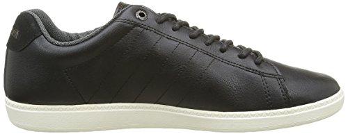 Le Coq Sportif Herren Courtcraft S 2 Tones Sneakers Schwarz (Black/ReglisseBlack/Reglisse)