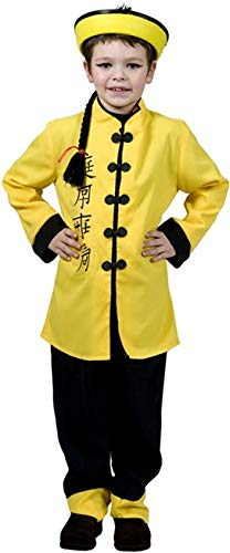 Japaner Kostüm - Chinese Kostüm Kinder Japaner Gr. 128