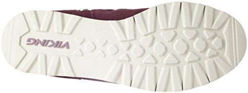 Viking Roea, Bottes à Enfiler Femme Violett (Burgundy)