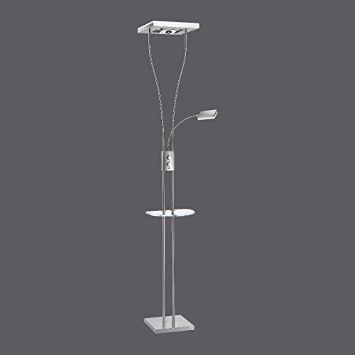 24 W LED Stand Lampe Flexo Lese Arm Steh Leuchte Lautsprecher Dimmer Leuchte LeuchtenDirekt 11775-55