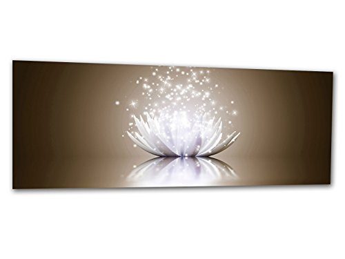 XXL verre d'impression / image tableaux LOTUS EFFECT NUDE AG312500397 Wall deco 125 x 50 cm Deco Glass, Design & Handmade
