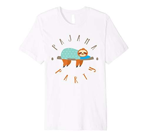 Lazy Faultier Pyjama-Party Sleepover T-Shirt