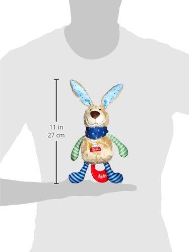 sigikid, Mädchen und Jungen, Spieluhr, Stofftier Hase, Blau/Grün, 40356 - 8