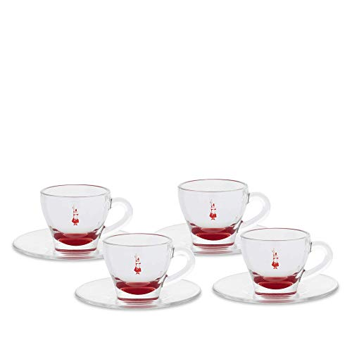 Pick And Drink ka1930/Set 4/Barattoli Ermetici Vetro Trasparente 5,50/x 5,50/x 8/cm