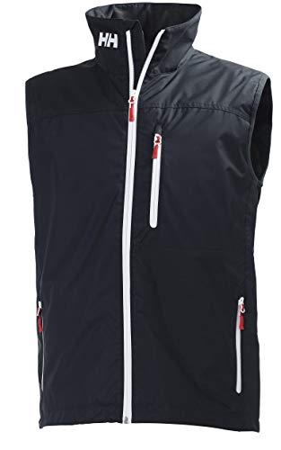 Helly Hansen Crew Vest Chaleco Forro Polar Interior para Hombres, Impermeable y diseñado para Cualquier...