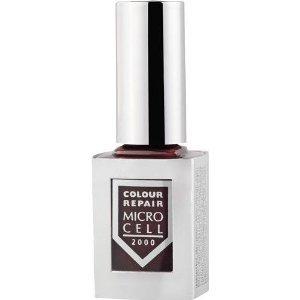 Micro Cell 2000 Colour & Repair Vernis à ongles 6 prises Effet modèle : Expresso Deluxe Couleur : Marron/Chocolat Foncé Contenu : 10 ml vernis à ongles Nail Polish