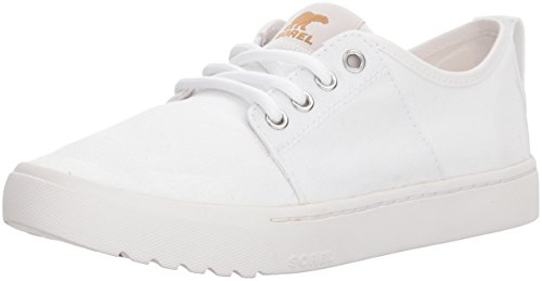 Sorel Damen Canvas Sneaker, Campsneak Lace, Weiß, Größe: 42