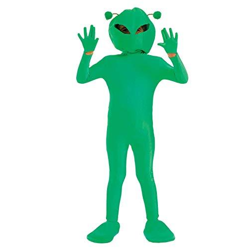 Kid Alien Kostüm - Fun Shack FNK2982L Kostüm, Unisex Children, Alien, L