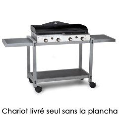 Forge adour 936900 - Forge Adour 936.900 - Barbecue chariot pour plancha