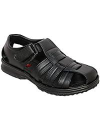 Oxydox Men's Black Sandals