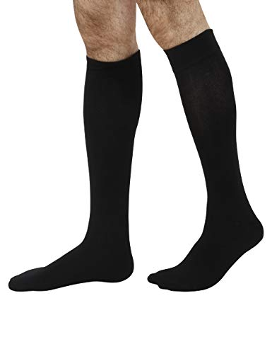 Never Lose Pro Series Soccer Stockings (Black, Large)