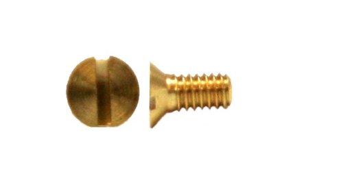 SDU 750944 Senkschrauben mit Schlitz D963 M1x3-Messing gedreht 50 Stück