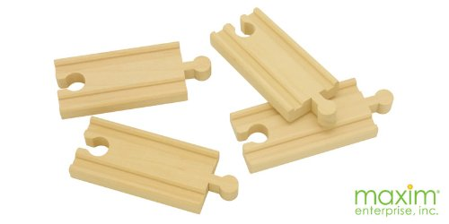 3 inch Straight Track - 4 Pack