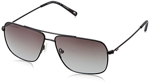 Tommy Hilfiger Gradient Square Men\'s Sunglasses - (810 PL C1 S|60|Grey Color)