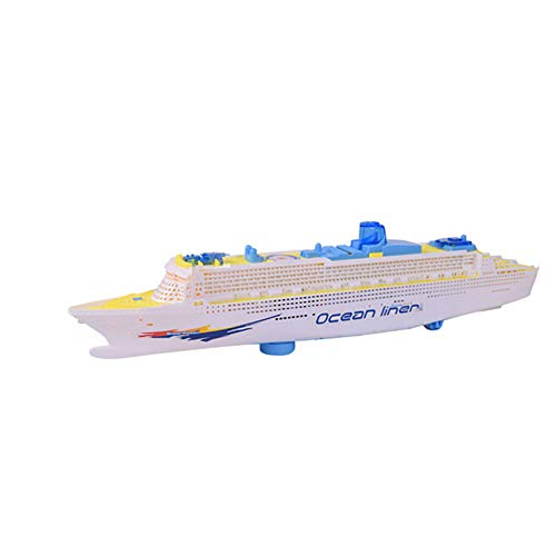 guoYL26sx chird's Toys,Electric Ocean Liner Cruise Ship Toy Flashing Musical Kids Educational Model