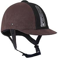 Horka adultos casco de seguridad Hawk Suede, marrón