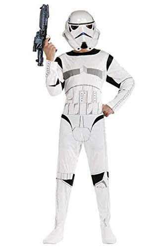 Karnestore Star Wars Stormtrooper Child Kids Outfit Cosplay Kostüm + (Kid Stormtrooper Kostüme)