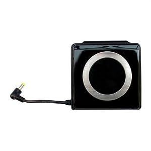 OSTENT 2400mAh Externes Ladegerät Power Storage Pack Kompatibel für Sony PSP 2000 3000 Farbe Schwarz