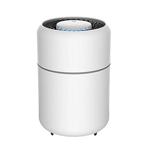 Détecteur de moustiques à rayons ultraviolets Photorécepteur Non Radiation No Noise Photocatalyseur intérieur Inhalation Sécurité et santé (135 * 135 * 208 mm) , white