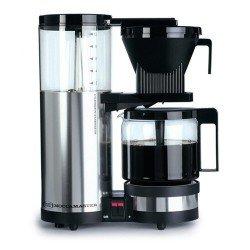 Moccamaster 89120 Filer-Kaffeemaschine CD 10, poliert Tropf-Stop-Funktion, 1,25 L, silber thumbnail