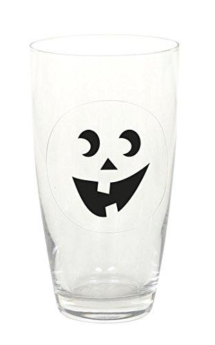(Unique Party Supplies Kürbis Gesichter Halloween Getränke selbst Drink Marker, Sortiert, 16Stück)