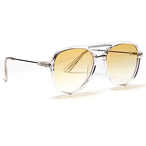 Kjwsbb 2019 New red FrauenPilot Sonnenbrille für männer Mode Farbe Big Frame Essig Sonnenbrille weiblichen Shades
