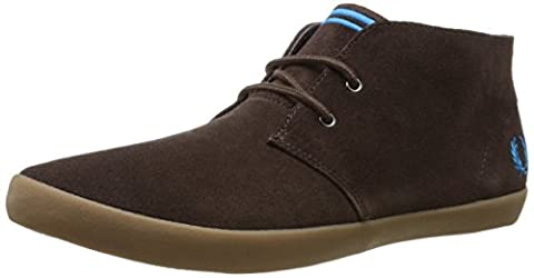 Fred Perry Byron Mid Suede, Baskets pour homme bleu