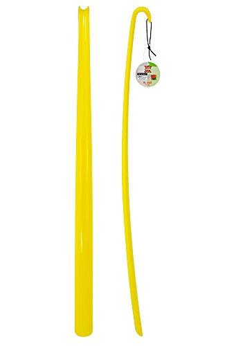ASIS nettrade ASIS nettrade Schuhlöffel - Schuhanzieher - XXL - Gelb - 1 Stück - aus hochwertigem Kunststoff - Extra lang - 77 cm