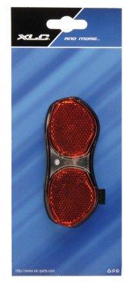 Standrücklicht Picadilly m LED (XLC K.) f. Gepäckträger,m.Standlicht+Kondensator