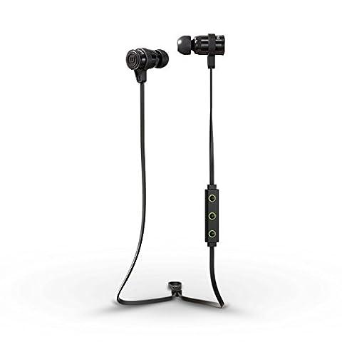 Brainwavz BLU Series Sport Bluetooth 4.0 APTX Headphones